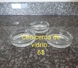 Ceniceros de Vidrio