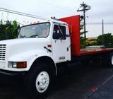 Camión de Plataforma International 1990