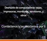 Servicio de reciclaje y servicio técnico garantizado