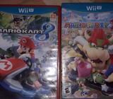 Vendo Dos Juegos de Wii U