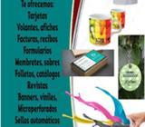 Impresión y servicios varios