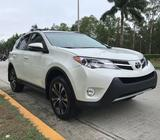 Vendo Toyota Rav4 2015 Blanco Full Extras 4x4
