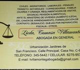 Abogada Litigante: Costos Módicos