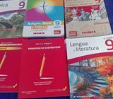 Libros varios de tercer y cuarto año