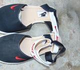 zapatillas negras talla 10