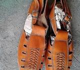 Sandalia cuero caki. Hombres Tallas 6, 5, 7, 8, 10, 11