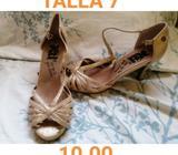 Sandalias de Mujer Talla 7