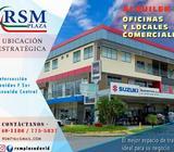 ALQUILER DE OFICINAS Y LOCALES COMERCIALES