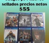 Juegos Ps4 Precio Neto