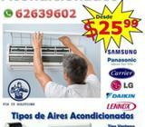 Mantenimiento, Instalación y Servicio Técnico de Aires Acondicionados