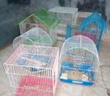 Vendo Jaulas para Aves