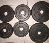 Discos de pesas