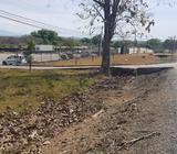 Terreno sobre via Interamericana con 100 metros de frente