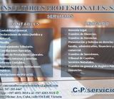 Abogados, Consultas legales y Contadores CPA