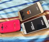 Samsung J5 Blanco Y Huawei Cro-l23