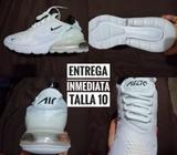 Zapatillas Nike Air 270 Blancas