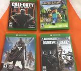 Venta de Xbox One - 4 juegos - 2 controles - Kinetic