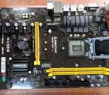 1151 Motherboard , Cpu , 8 Gb Ram