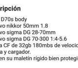 Nikon D70s Profesional