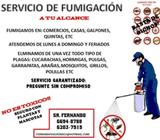 Servicio de Fumigación Garantizado