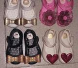 Zapatos Zaxy Usados 10 Cada Par