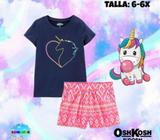 Set de Unicornio OshKosh Talla 6-6X
