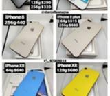 Celulares, Apple Watch, iPad Y Macbook