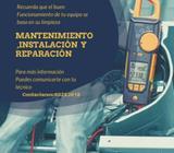 Mantenimiento Instalación Y Reparación