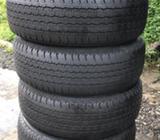 4 Llantas 265/65r17 Bridgestone Nitidas