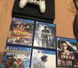 Ps 4 Super Slim de 500Gb. NEGOCIABLE