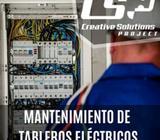 Servicio especializado en mantenimiento de tableros eléctricos