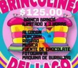 Promo Cumpleaños, Brinca Brinca, Snacks