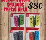 Joycon Switch Sellados Precios Netos