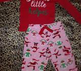 Pijama Carter's de Santa Clauss 18 Meses