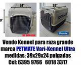 Vendo Kennel para raza grande marca PETMATE Vari-Kennel Ultra