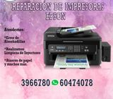 Reparaciones de impresoras EPSON