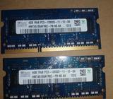 Memoria Ram Ddr3 Laptop 2x4gb