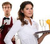 Cocineros, camareros, limpiadores y recepcionistas necesitados