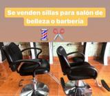 Sillas de Barberia Y Salon de Belleza