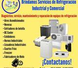 técnico en refrigeración, mantenimiento, reparación instalación