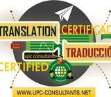 Panamá: Traductores Públicos Autorizados: Ingles, Portugués, Francés, Italiano, Mandarín*