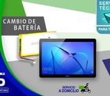 Servicio técnico especializado en reparaciones de batería de tablets de todas las marcas
