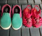 Zapatos Talla 10 Ambos por 20