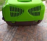 kennel para perro pequeños , gatos. 84 c.m de largo 36 c.m de ancho 41c.m de alto