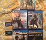 Vendo Juegos de PS4/Gameboy Advance