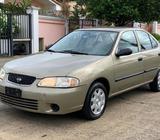 Vendo Nissan Sentra B15 2003 Manual a solo 3,200 negociable