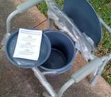 silla de ruedas, baño y servicio