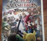Vendo Super Smash Brawl Wii
