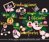 SERVICIO DE TRADUCCIÓN PÚBLICA AUTORIZADA / 8 idiomas* Tel: 3888685