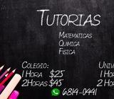 Profesor de fisica, quimica y matemáticas